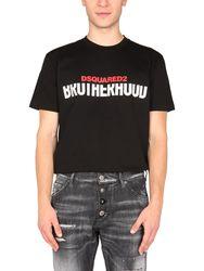 Dsquared 3d logo t-shirt - dsquared - Modalova
