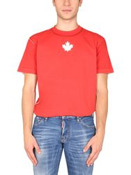"Dsquared ""mini leaf cool"" t-shirt - dsquared - Modalova"