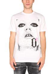 Dsquared t-shirt with pop print - dsquared - Modalova