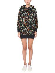 """Kenzo """"birds"""" print sweat dress - kenzo - Modalova"""