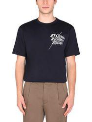 Z zegna t-shirt with logo - z zegna - Modalova