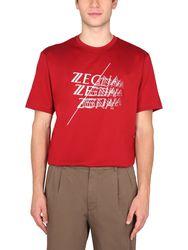 Z zegna crew neck t-shirt - z zegna - Modalova
