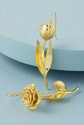 Wild Flower Drop Earrings - Anna + Nina - Modalova
