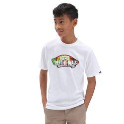 T-shirt Otw Logo Fill Garçon (8-14 Ans) (white-spiral Tie Dye) Boys , Taille L - Vans - Modalova