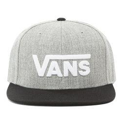Casquette Drop V Snapback (heather Grey-black) , Taille TU - Vans - Modalova