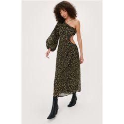 Cut Out One Shoulder Midi Dress - Nasty Gal - Modalova