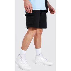Short cargo basique en jersey - Boohooman - Modalova