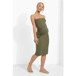 Maternité - Robe Bustier - boohoo - Modalova