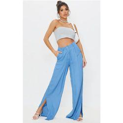 Pantalon ample en maille tissée à ourlets très fendus - PrettyLittleThing - Modalova