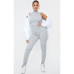 Shape - Combinaison en coton sans manches à jambes froncées - PrettyLittleThing - Modalova