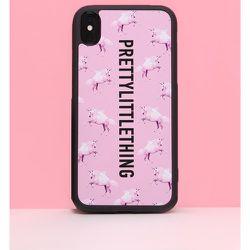 Coque à licorne pour iPhone 10/X/XS - PrettyLittleThing - Modalova
