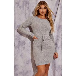PLT Recycle - Mini-robe en maille tricot à cordons - PrettyLittleThing - Modalova