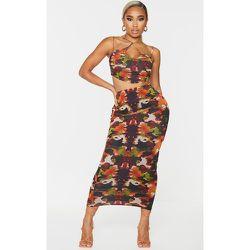 Jupe longue en mesh imprimé camouflage - PrettyLittleThing - Modalova