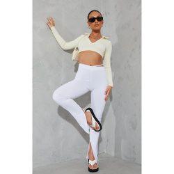 Pantalon skinny à coutures contrastantes et découpes - PrettyLittleThing - Modalova