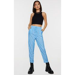 Pantalon casual à carreaux - PrettyLittleThing - Modalova