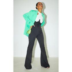 Pantalon flare en maille à détail corset - PrettyLittleThing - Modalova