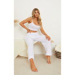 Jogging de pyjama en maille gaufrée Mix & Match - PrettyLittleThing - Modalova
