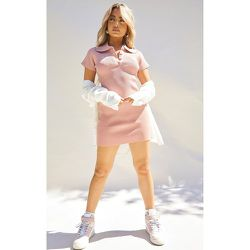 Petite - Robe polo en maille tricot - PrettyLittleThing - Modalova