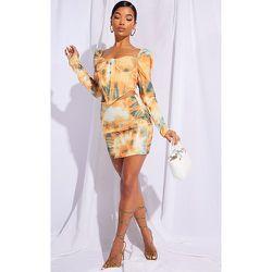 Mini-jupe en maille tissée imprimé tie & dye - PrettyLittleThing - Modalova