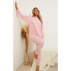 Legging de pyjama en maille gaufrée Mix & Match - PrettyLittleThing - Modalova