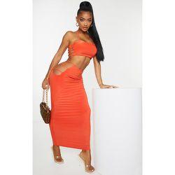 Shape - Mini jupe slinky à découpes sur les côtés - PrettyLittleThing - Modalova