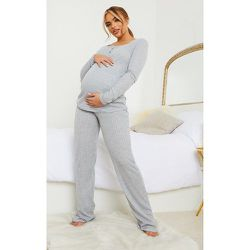 PLT Maternité - Pantalon ample en maille pointelle - PrettyLittleThing - Modalova