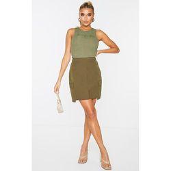 Mini jupe style cargo en maille détail poches - PrettyLittleThing - Modalova