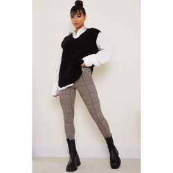 Pantalon skinny à imprimé pied-de-poule - PrettyLittleThing - Modalova