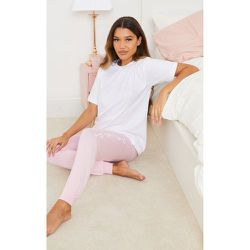 Ensemble de pyjama à t-shirt logo et jogging - PrettyLittleThing - Modalova