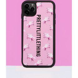 Coque imprimé licorne iPhone 11 pro - PrettyLittleThing - Modalova