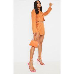 Petite - Mini jupe à taille en V et lien - PrettyLittleThing - Modalova