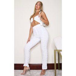 Pantalon skinny à jambes froncées - PrettyLittleThing - Modalova