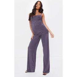 PLT Maternité - Pantalon ample slinky - PrettyLittleThing - Modalova