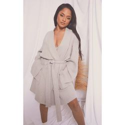 Robe de chambre en maille gaufrée douce - PrettyLittleThing - Modalova