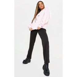 Pantalon droit en maille style casual - PrettyLittleThing - Modalova