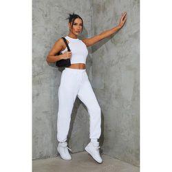 Jogging classique blanc, Blanc - PrettyLittleThing - Modalova