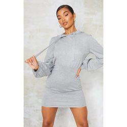 Mini robe en maille tricot à capuche - PrettyLittleThing - Modalova