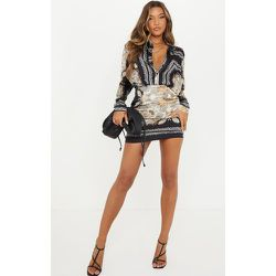 Mini-jupe en maille imprimé chaîne - PrettyLittleThing - Modalova