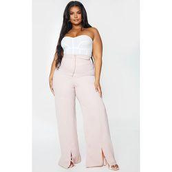 PLT Plus - Pantalon ample détail coutures - PrettyLittleThing - Modalova