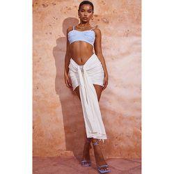 Mini jupe froncée et drapée devant - PrettyLittleThing - Modalova