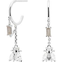 Boucles d'oreilles à fermoir à poussette AR02-315-U 925 Argent - PD Paola - Modalova