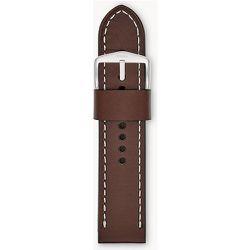 Bracelet en cuir Brun  - Fossil - Modalova