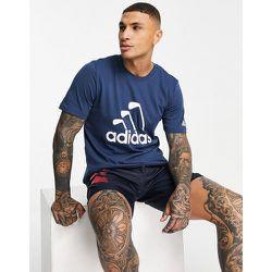 T-shirt à motif club - Bleu - adidas Golf - Modalova