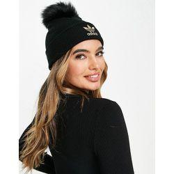 Bonnet avec pompon en fourrure - adidas Originals - Modalova