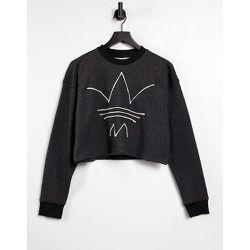 RYV - Sweat-shirt court à logo - chiné - adidas Originals - Modalova