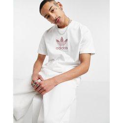 Series - T-shirt à motif trèfle - adidas Originals - Modalova