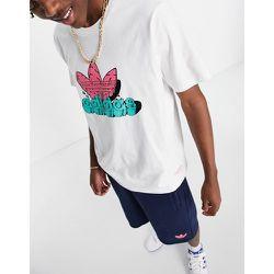 T-shirt à logo trèfle - adidas Originals - Modalova