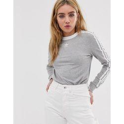 T-shirt manches longues trois bandes - adidas Originals - Modalova