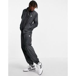 Veste de survêtement à logo répété - adidas Originals - Modalova