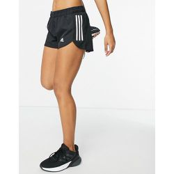 Adidas - Running - Short 3pouces à logo 3bandes - adidas performance - Modalova